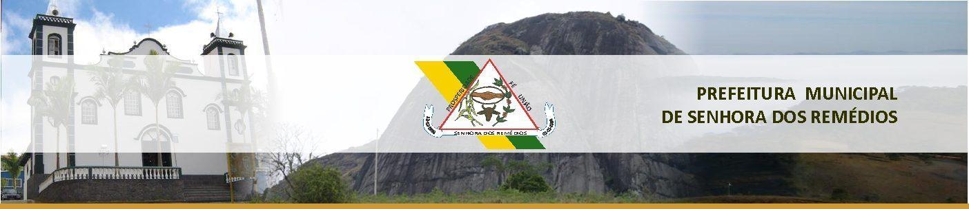 Portal da Prefeitura Municipal de Senhora doS Remédios